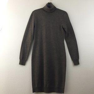 Ralph Lauren Merino wool turtleneck sweater dress